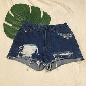 Pants - Levi's 501 Shorts